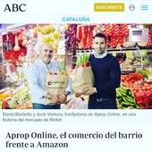 El  @abc_diario nos dedica hoy un artículo. Cada vez más medios se hacen eco de la propuesta que ofrecemos en Aprop Online para digitalizar el comercio de proximidad de un municipio y así adaptarse al cliente de la sociedad actual.