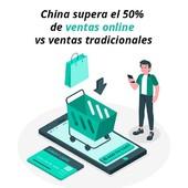 """En China las ventas online superan por primera vez a las ventas en el comercio tradicional. Es una tendencia creciente, con mucho camino a recorrer en Europa, y especialmente en España.   La responsividad pensando en el """"mobile first"""", y el Delivery en unos tiempos muy cortos de entrega, hacen del ecommerce en China un modelo difícilmente superable."""